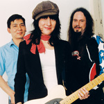 THE FONTAINE TOUPS, band, Andy Cheng, Janet Fontaine Toups, John Sullivan