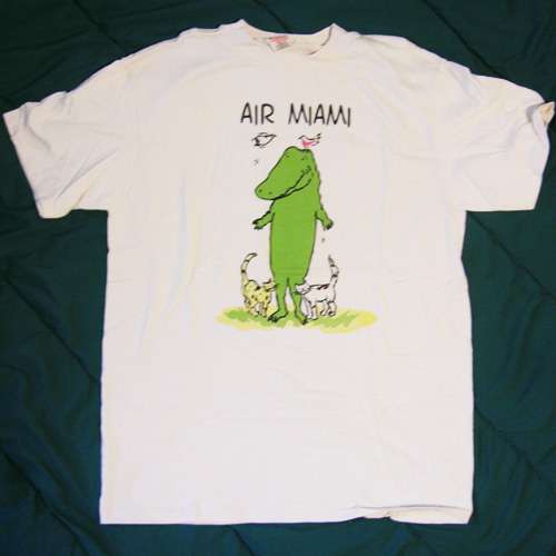 Teen Beat 168 Air Miami Tee Shirt