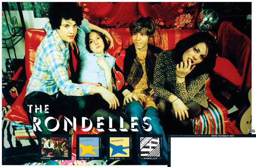 Teen Beat 290 The Rondelles Poster