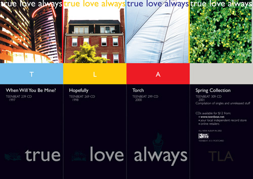 Teen Beat 313 True Love Always Postcard