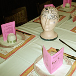 Teen-Beat 18th Anniversary Banquet decorative heads